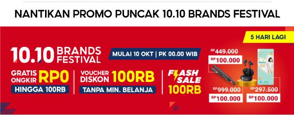 5 Hari Lagi 10.10 Brands Festival
