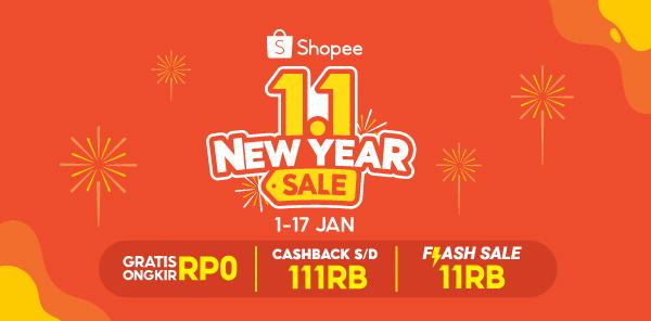 Promo Puncak 1.1 New Year Sale