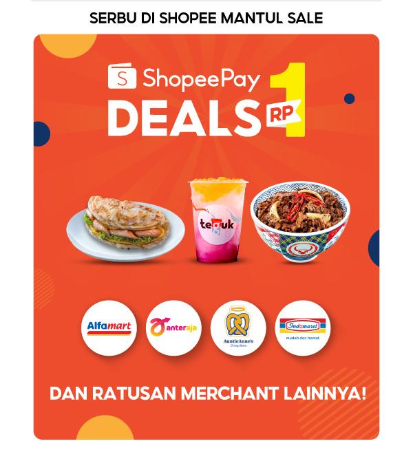 ShopeePay Deals